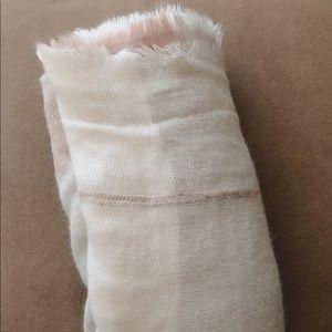 Lauren Conrad Pink Scarf Blanket